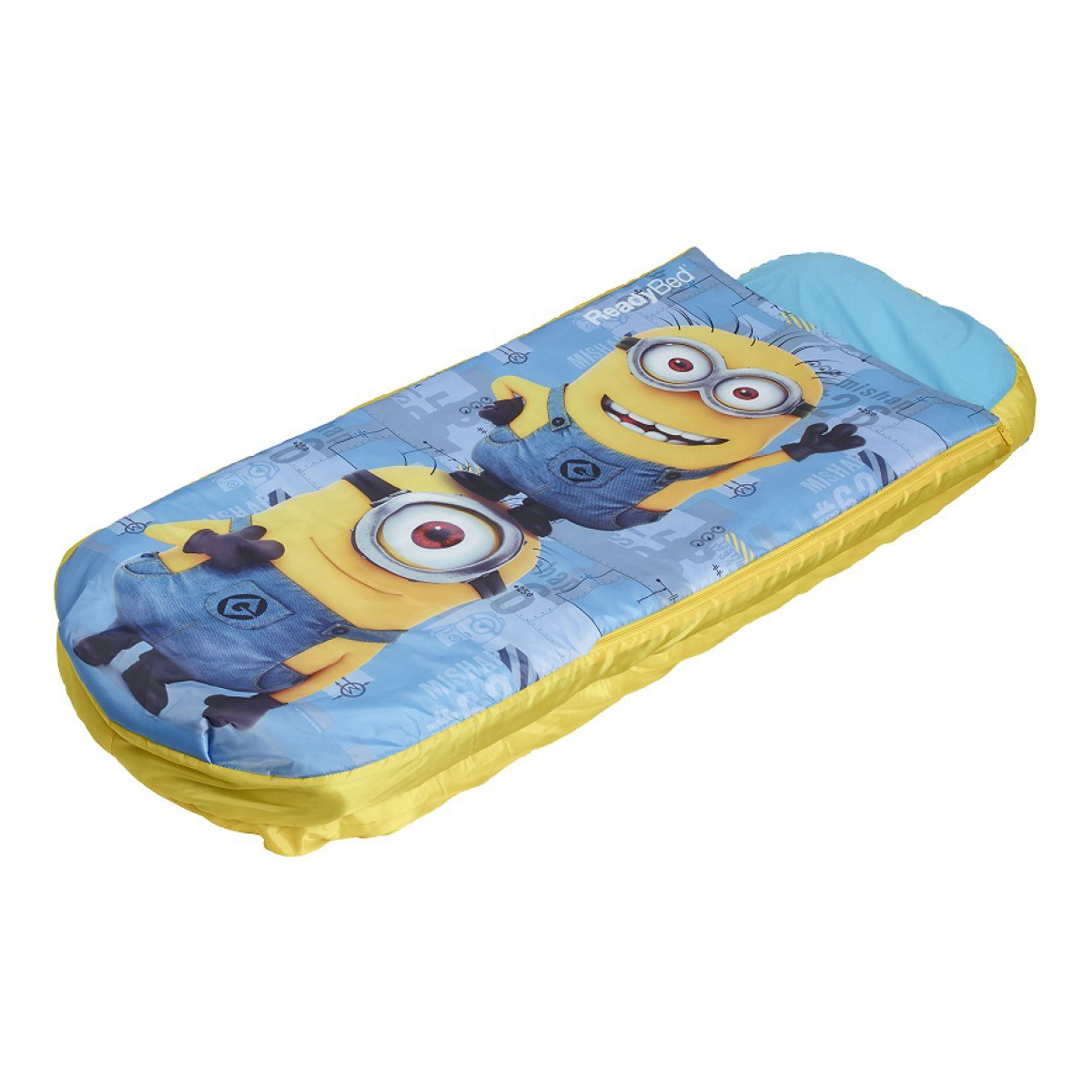 terre matelas gonflable les minions 60x150 de nuit. Black Bedroom Furniture Sets. Home Design Ideas