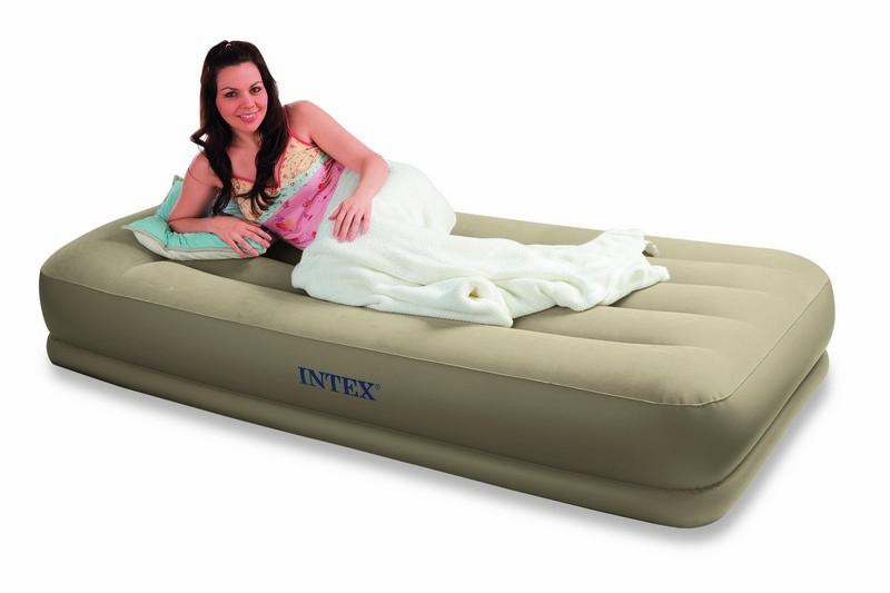 intex matelas gonflable deluxe rest bed 1 personne catgorie matelas de camping. Black Bedroom Furniture Sets. Home Design Ideas