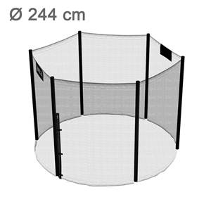 244 guide d 39 achat - Filet de protection trampoline 244 ...