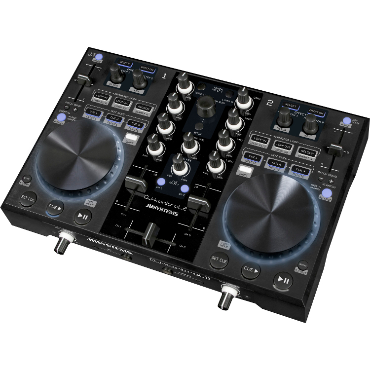 jbsystems kontrol 2 contr leur dj usb midi carte son int gr. Black Bedroom Furniture Sets. Home Design Ideas