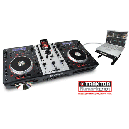 numark controleur dj usb mixdeck. Black Bedroom Furniture Sets. Home Design Ideas