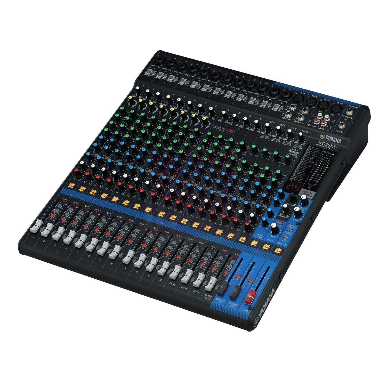 Yamaha mg20xu table de mixage 20 canaux for Table yamaha