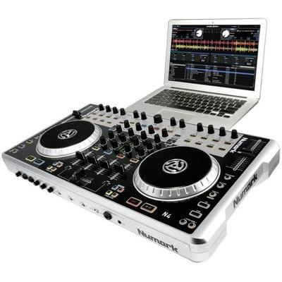 numark contr leur dj n4 cat gorie table de mixage. Black Bedroom Furniture Sets. Home Design Ideas