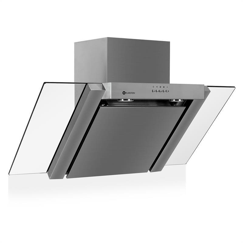 Klarstein 90ts1 hotte aspirante design lot 90cm - Hotte aspirante professionnel ...