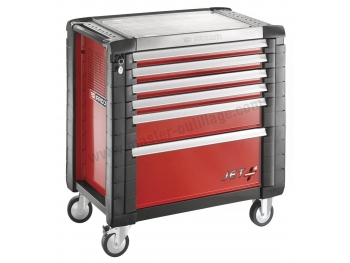 facom servante jetm4 6 tiroirs rouge jet 6m4pb. Black Bedroom Furniture Sets. Home Design Ideas