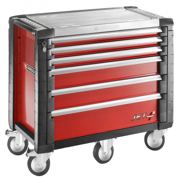 facom servante jetm5 6 tiroirs rouge jet 6m5pb. Black Bedroom Furniture Sets. Home Design Ideas