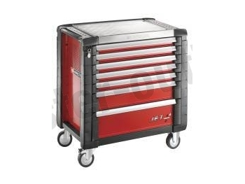 facom servante rouge 7 tiroirs jet 7m4pb. Black Bedroom Furniture Sets. Home Design Ideas
