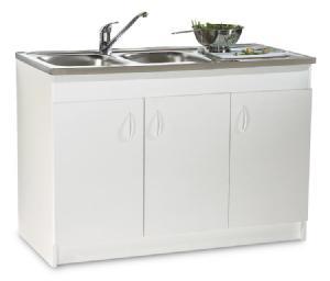 Neova meuble sous evier similaire sim nf 120x60cm s12n Meuble de cuisine sims 4 qui s imbrique