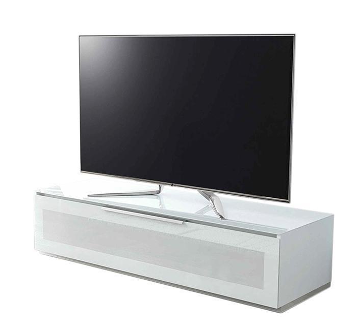 Meuble Tv Blanc Munari : Munari Meuble Tv Garda Ga150bi Blanc Verre Munari Meuble Tv Garda