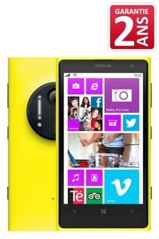 nokia smartphone lumia 1020 jaune. Black Bedroom Furniture Sets. Home Design Ideas
