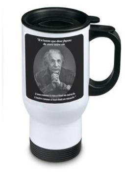 Mug isotherme (thermos) en
