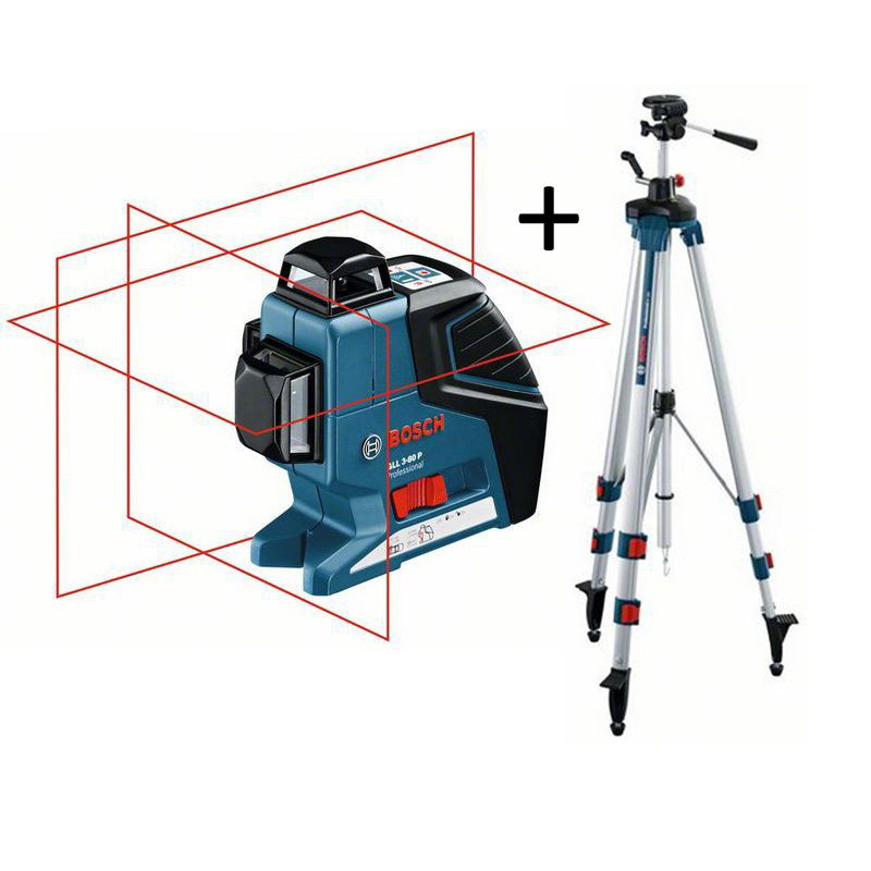 Bosch laser multifonctions triple plan 360 gll 3 80 p for Plan 360