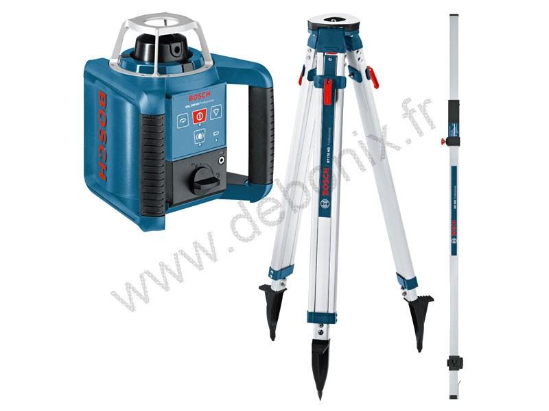 Laser rotatif bosch - Niveau laser rotatif exterieur ...
