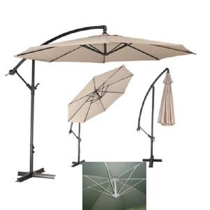 bhv parasol d port fibre de verre selection. Black Bedroom Furniture Sets. Home Design Ideas
