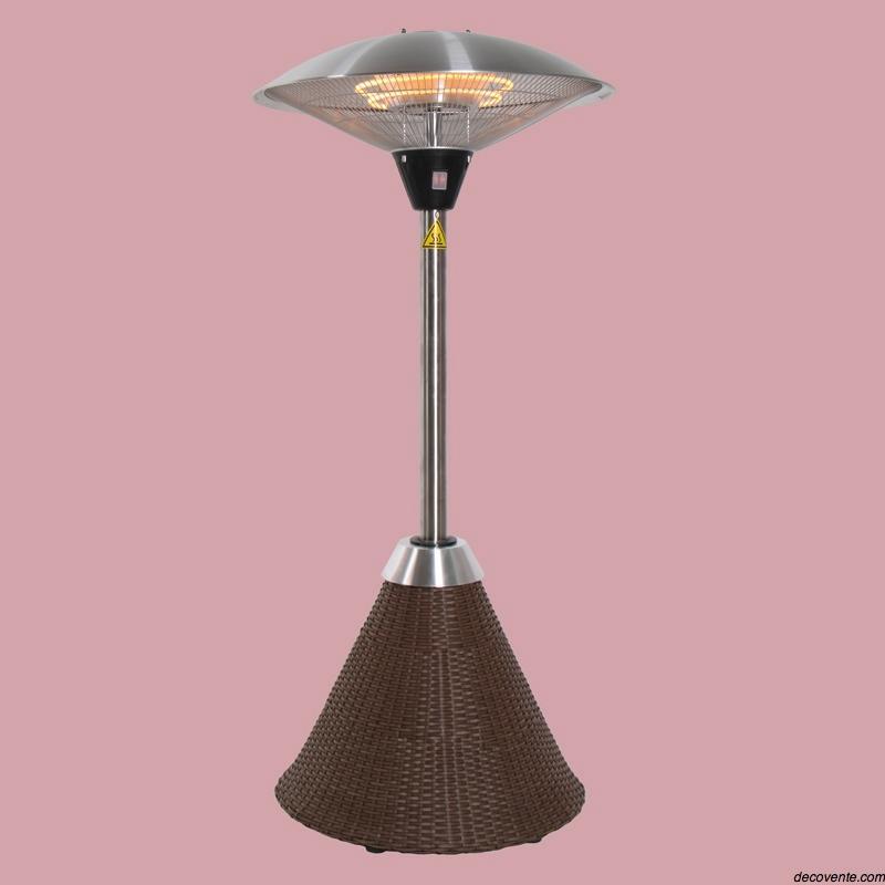 parasol chauffant lectrique de table pictures to pin on. Black Bedroom Furniture Sets. Home Design Ideas