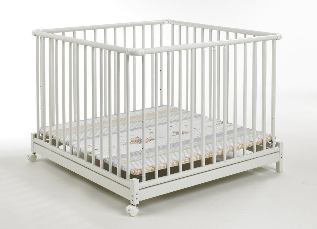 geuther tour de parc blanc marron 102x102 catgorie baignoire. Black Bedroom Furniture Sets. Home Design Ideas
