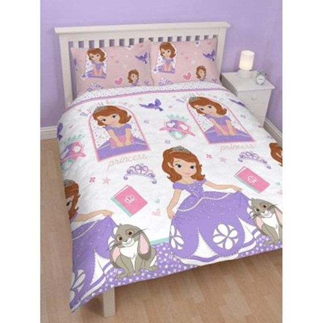 Disney cparure de lit double princesse sofia adulte for Lit princesse adulte