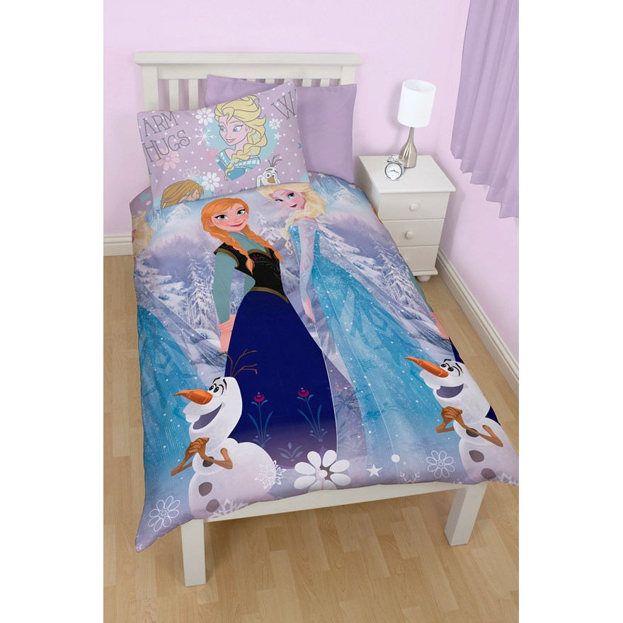 disney housse de couette reine des neiges frozen crysta. Black Bedroom Furniture Sets. Home Design Ideas