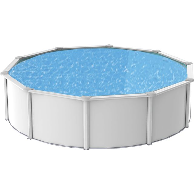 Abak piscine mtal saphir ronde diamtre 495 x 12 for Calcul volume piscine ronde