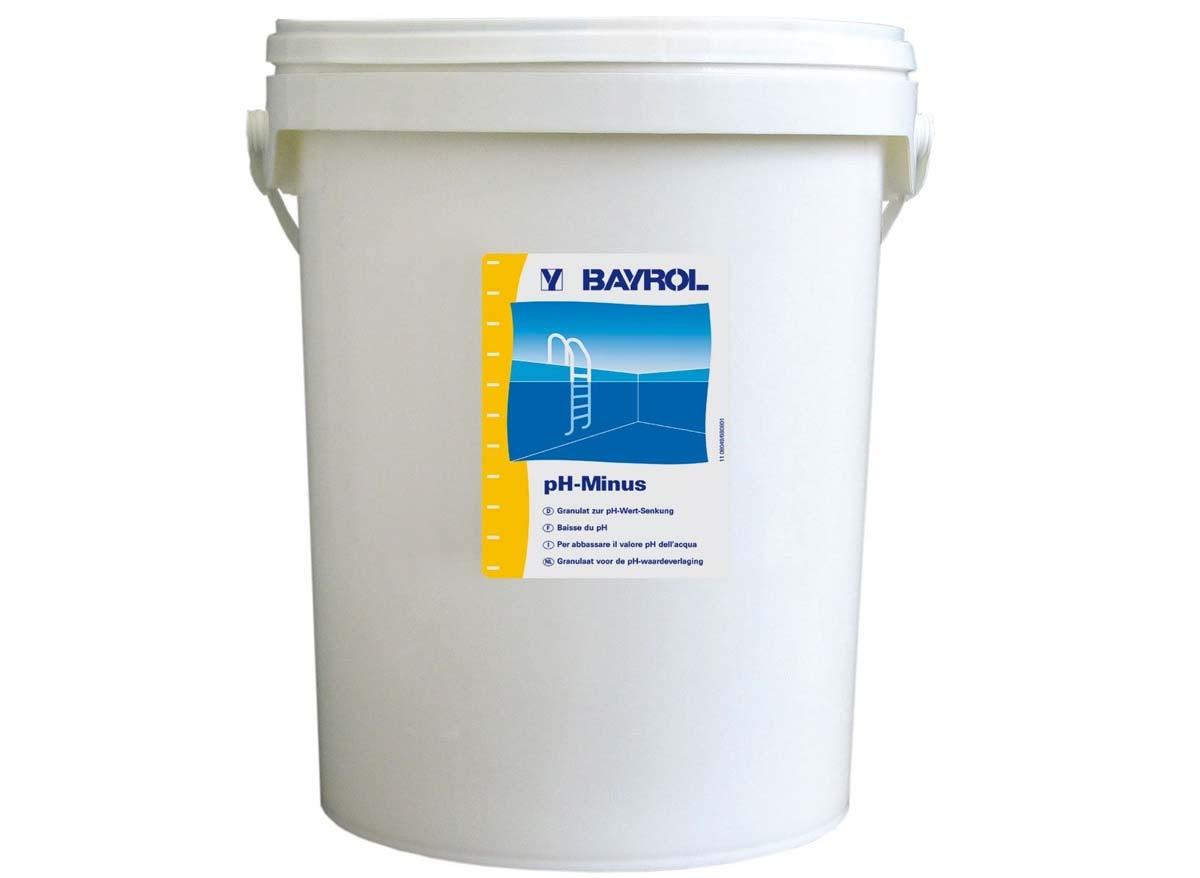 Bayrol ph moins 18kg for Produit piscine