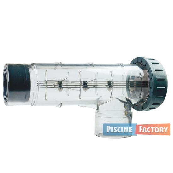 Recherche cellule pour lectrolyse du guide et comparateur for Piscine factory