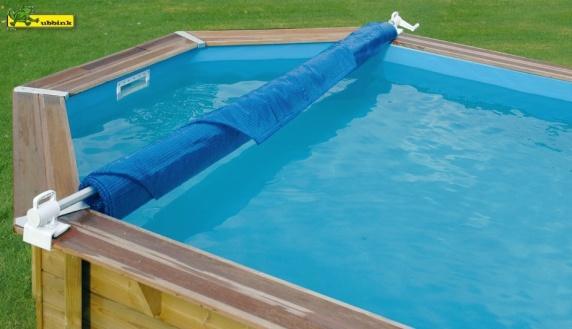 Enrouleur de b che amovible for Enrouleur bache piscine fait maison