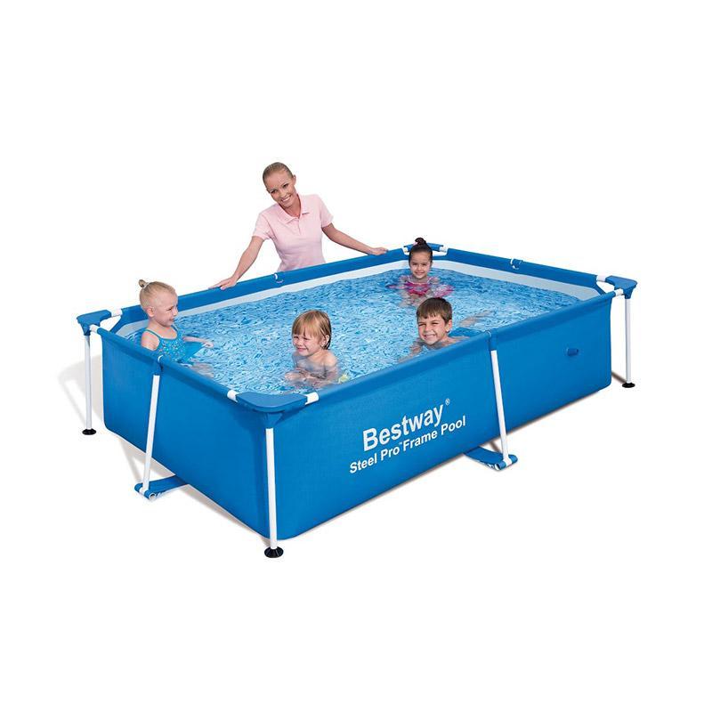 Catgorie piscine du guide et comparateur d 39 achat for Piscine tubulaire rectangulaire bestway