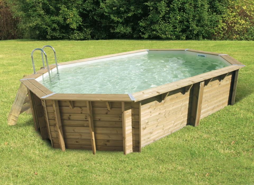 Nortland catgorie piscine for Rail liner piscine bois