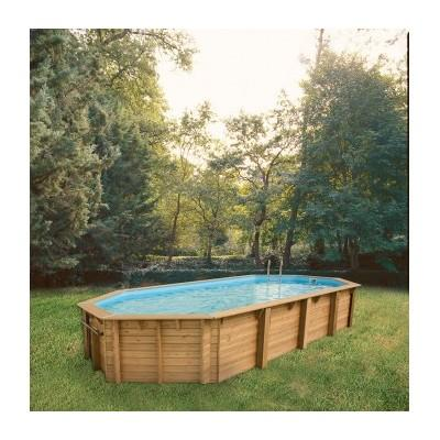 Ubbink cpiscine bois oca x catgorie piscine for Piscine hors sol bois 8 x 4