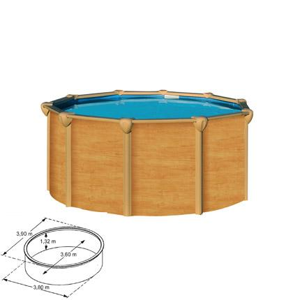 Catgorie piscine du guide et comparateur d 39 achat for Piscine acier aspect bois intex