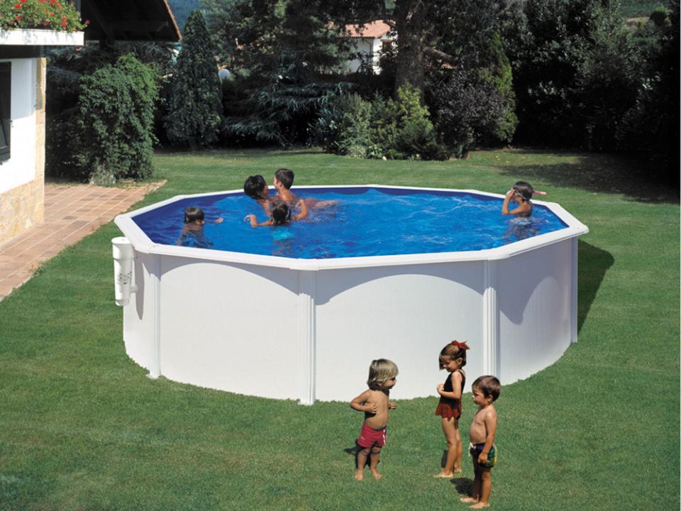 Cat gorie piscine for Piscine acier ronde