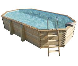 Abak cpiscine m tal splasher ronde diam tre 3 00 x for Abak piscines trigano jardin