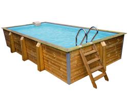 Abak bois eden roc rectangulaire l 810 x for Abak piscines trigano jardin