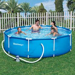 bestway piscine 3m05 x 76 cm. Black Bedroom Furniture Sets. Home Design Ideas