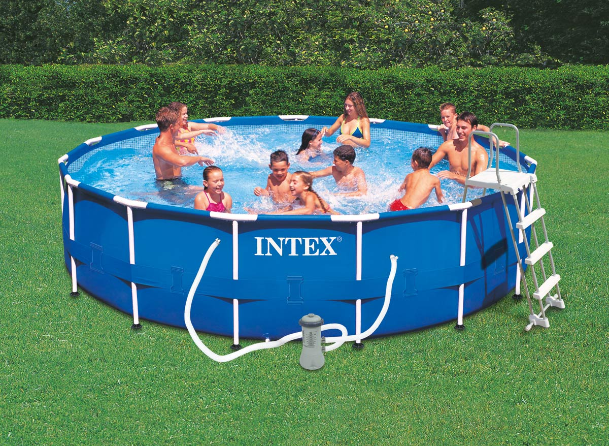 Intex piscine tubulaire 457 x m rchauffeur for Intex piscine