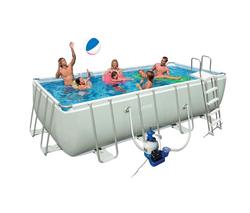 Intex piscine tubulaire 457 x 274 x 122 cm rectangulair for Piscine tubulaire rectangulaire 549 x 274 x 122 cm