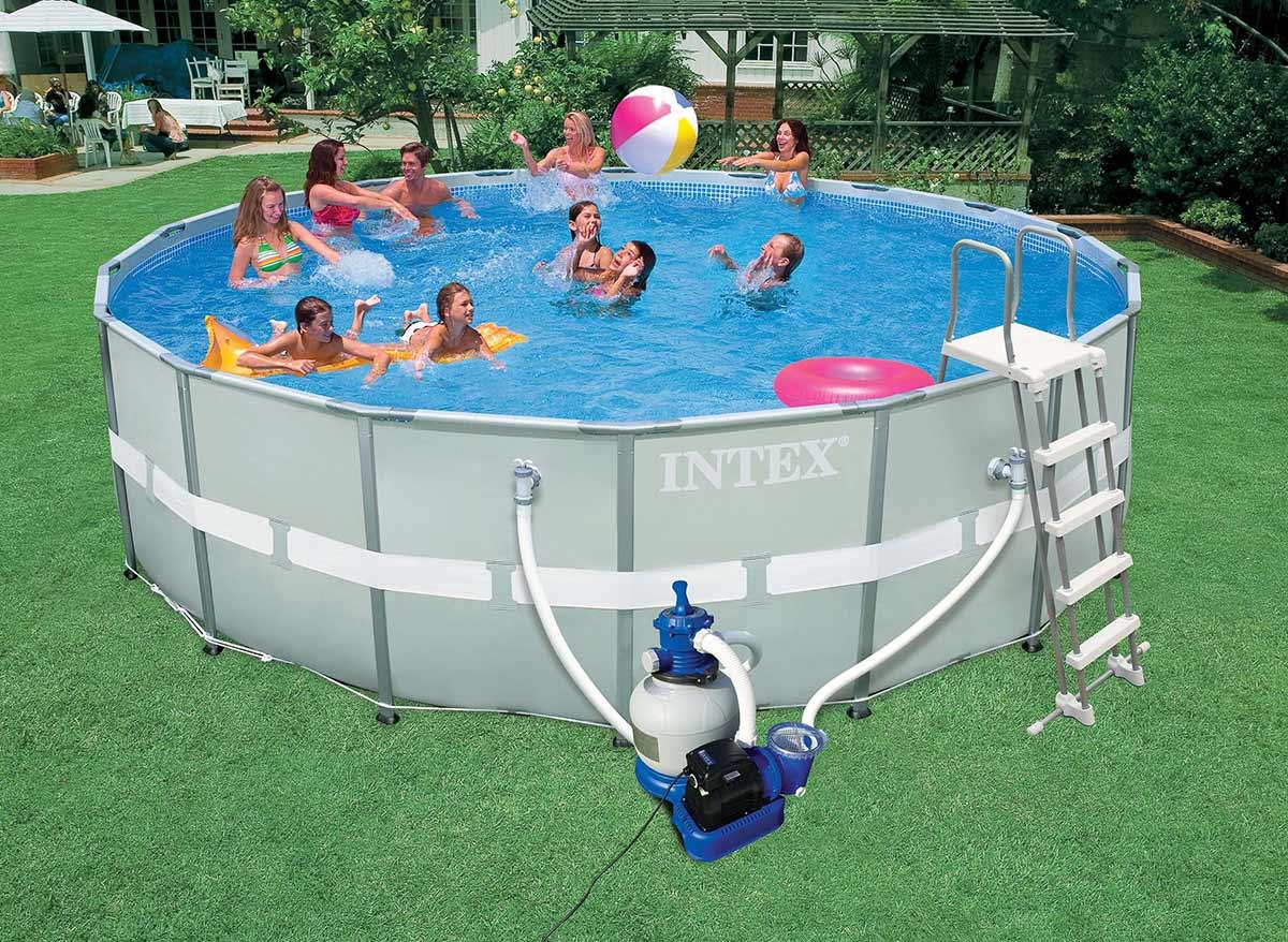 Intex catgorie echelle de piscine for Piscine tubulaire ovale 4 88 x 3 05 x 1 07 m
