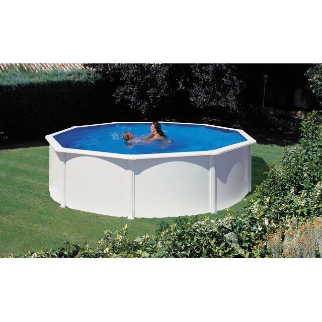 San ronde en mtal marina atlantic kit460eco for Comparateur prix piscine