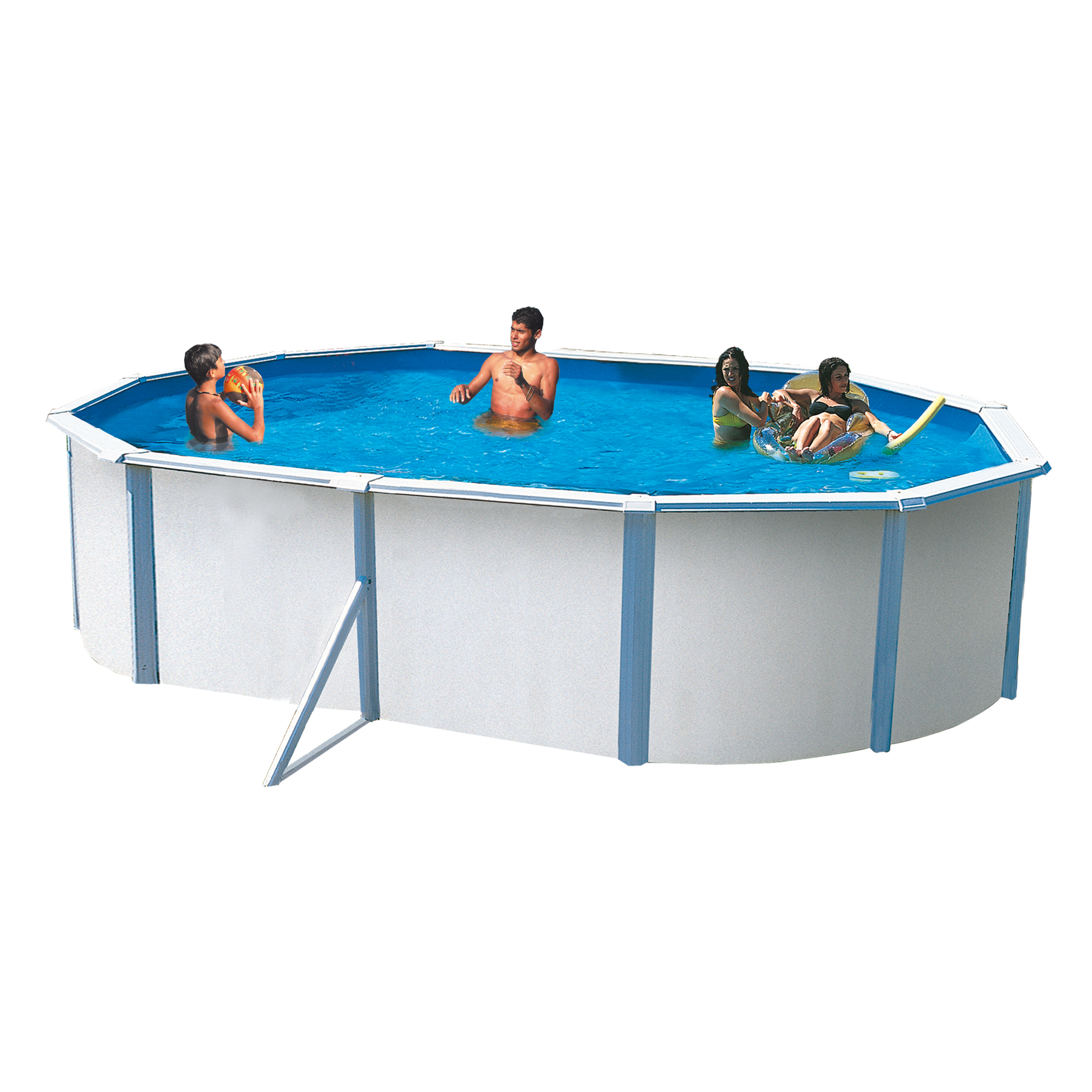 piscine trigano jardin trigano hors sol mtal 515 x 385 x m saph