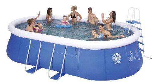 Trigano piscine autoportante 540 m x 360 x 122 m st for Piscine trigano