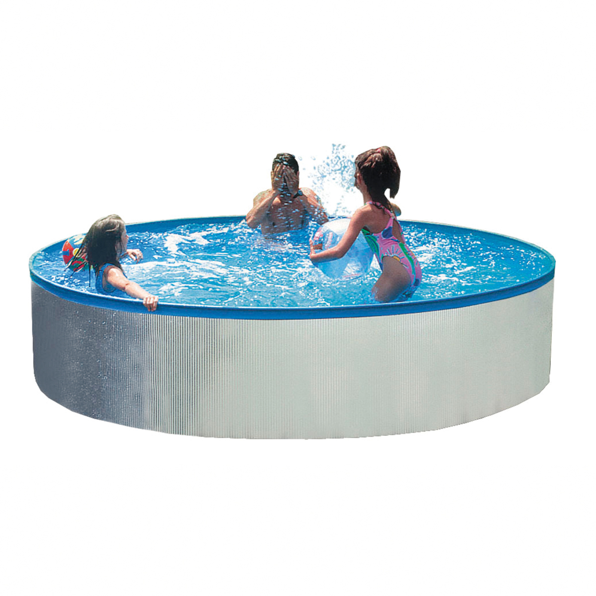 Piscine gonflable solde maison design for Piscine acier solde