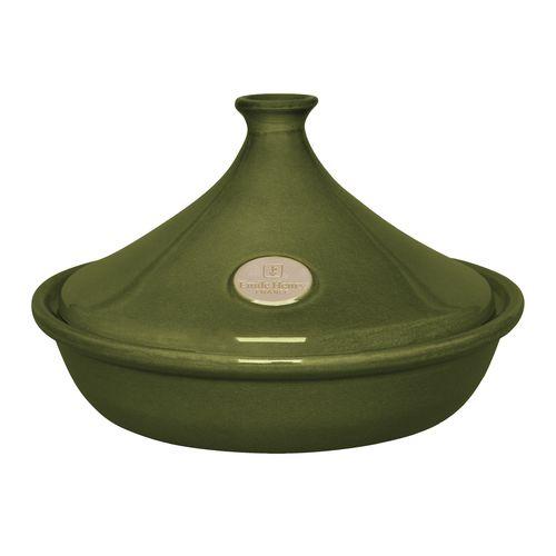 emile c henry tajine 26cm olive