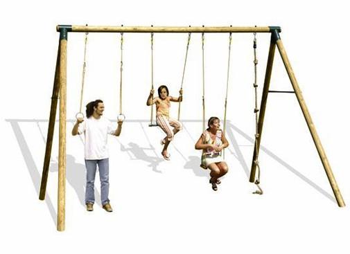 trigano portique bois 300 m adultes ados. Black Bedroom Furniture Sets. Home Design Ideas