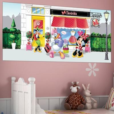 Disney poster g ant la boutique de minnie clarabelle for Decoration maison disney