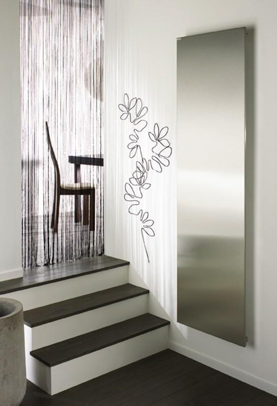 acova radiateur electrique altima vertical aluminium 900w. Black Bedroom Furniture Sets. Home Design Ideas
