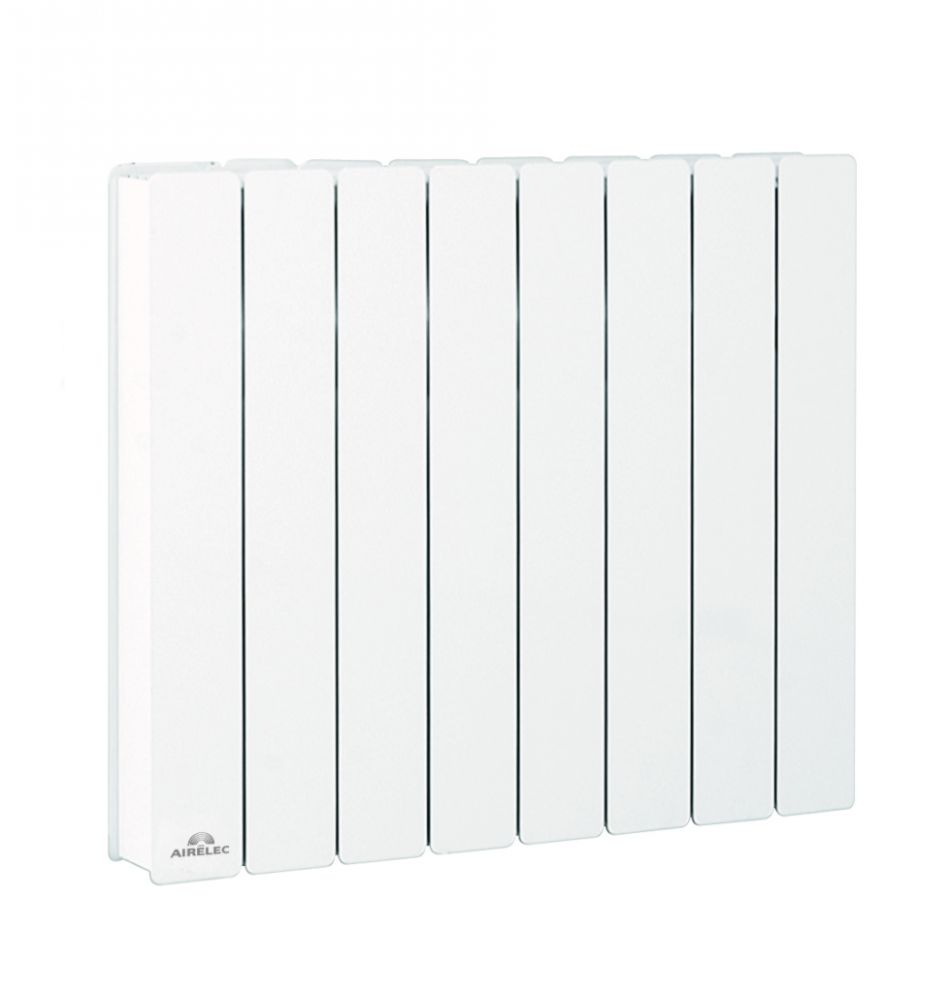 airelec radiateur fonte fontea digital 1500w horizontal. Black Bedroom Furniture Sets. Home Design Ideas