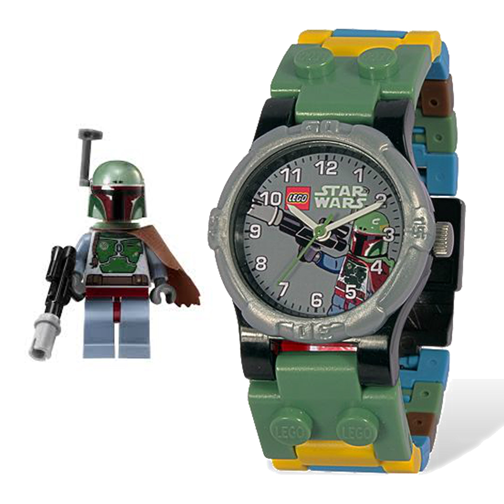 lego montre star wars boba fet 740428. Black Bedroom Furniture Sets. Home Design Ideas
