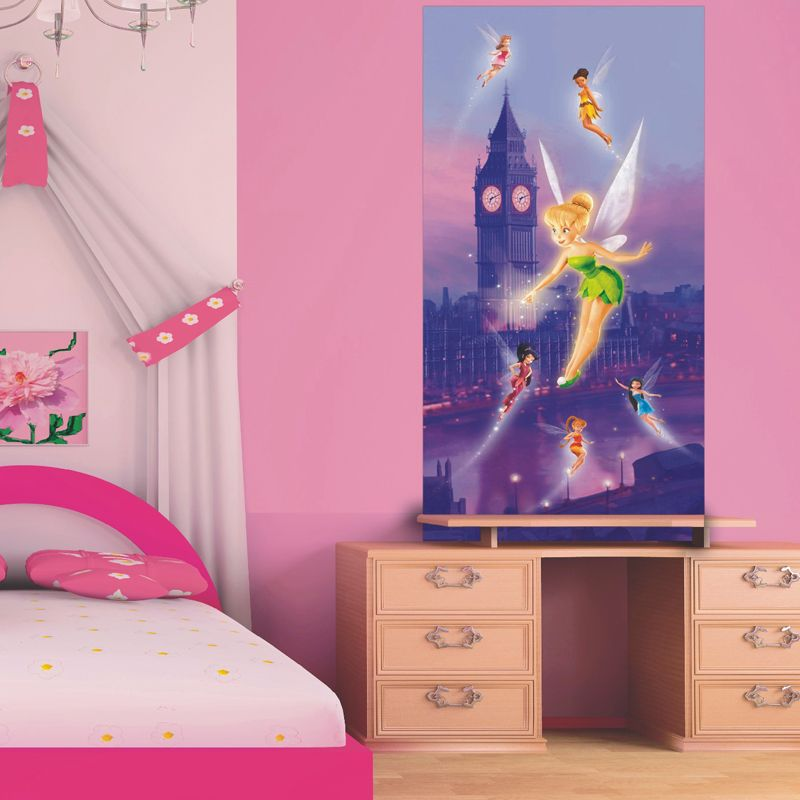Disney poster g ant f e clochette fairies for Poster decoratif mural