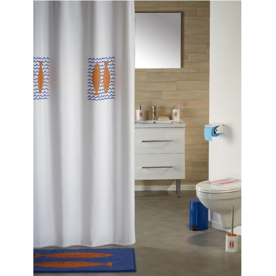 Cat gorie rideaux de douche du guide et comparateur d 39 achat for Longueur rideau de douche