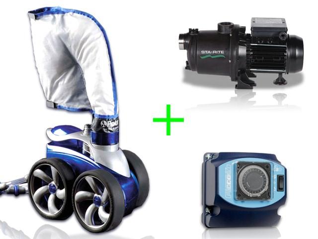 polaris robot piscine 3900s surpresseur 15cv coffret. Black Bedroom Furniture Sets. Home Design Ideas